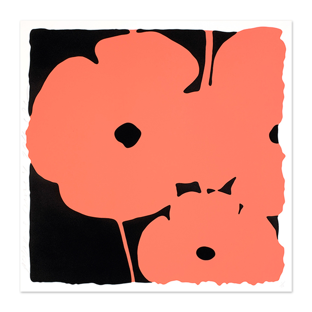 Donald Sultan, 'Coral Poppies', 2011, MLTPL