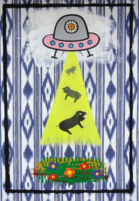 , 'La sublimación del héroe contemporáneo,' 2015, Galería Pelaires