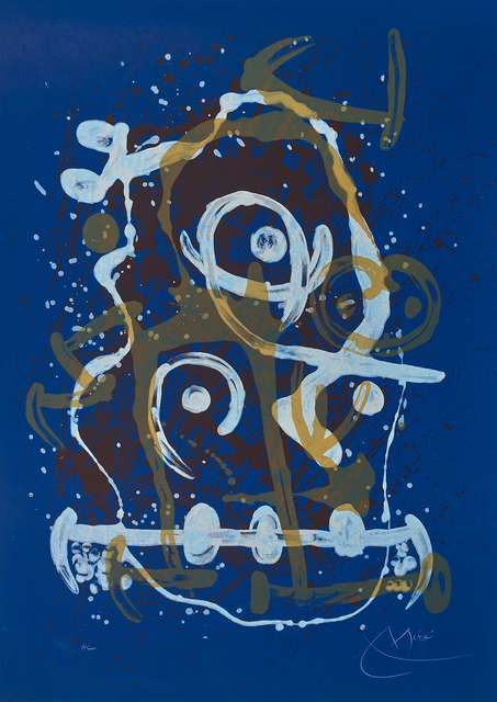 , 'La Chevauchée – Bleu. The Horse Ride,' 1969, William Weston Gallery Ltd.