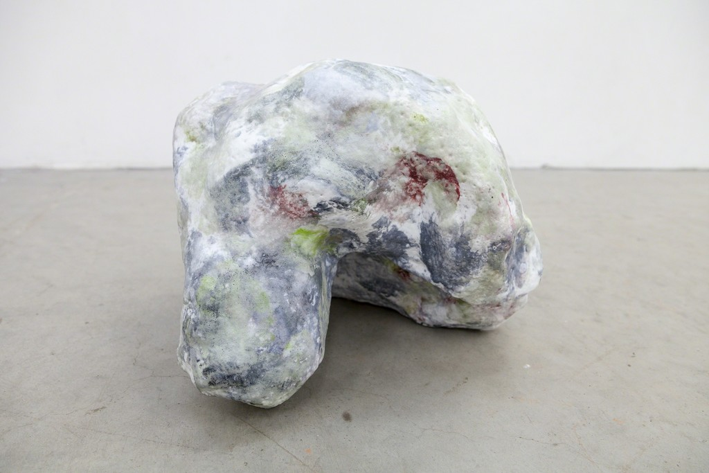 "Magdalena Gerber, ""Wolkenstein #3"", 2013, ceramic with porcelaine foam, unique copy 