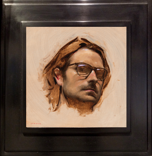 , 'Self Portrait with Glasses,' 2017, ARCADIA CONTEMPORARY