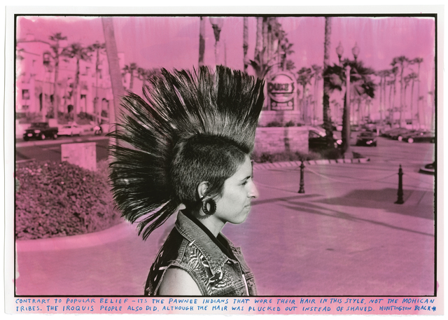 , 'Mohawk Girl HB Side,' 2017, Roberts Projects
