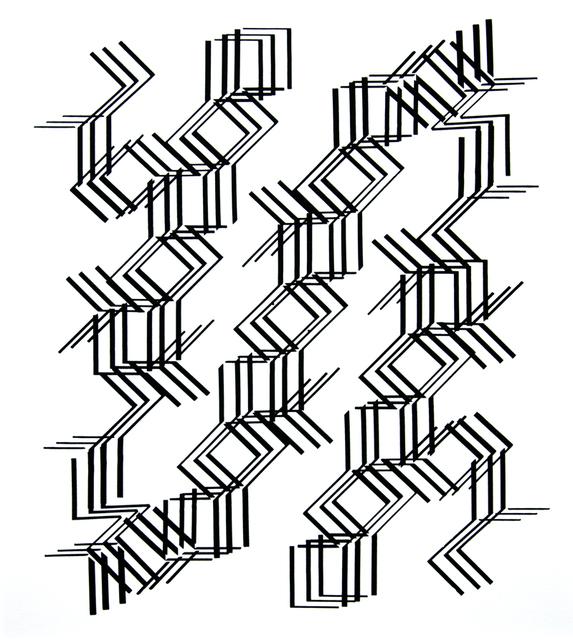 José Oiticica Filho, 'Forma D11', 1958, Galeria Raquel Arnaud