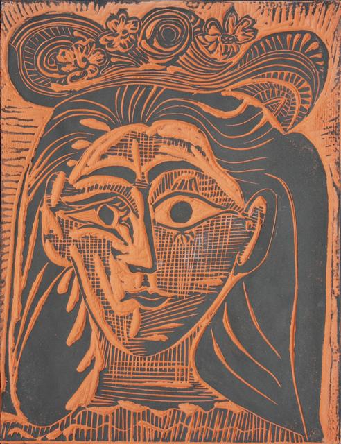 , 'Femme au Chapeau Fleuri (A.R. 521),' 1964, Denis Bloch Fine Art