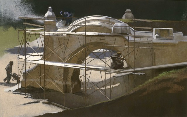 , 'Restoration of Meadowport Arch,' 1987, Gerald Peters Gallery