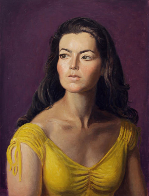, 'Kate in Yellow,' 2018, NINO MIER GALLERY