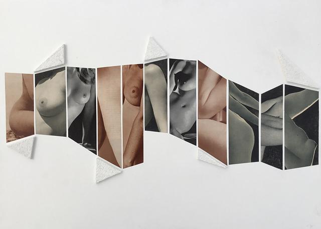 , 'Collage 18,' 2016, Galerie Les filles du calvaire