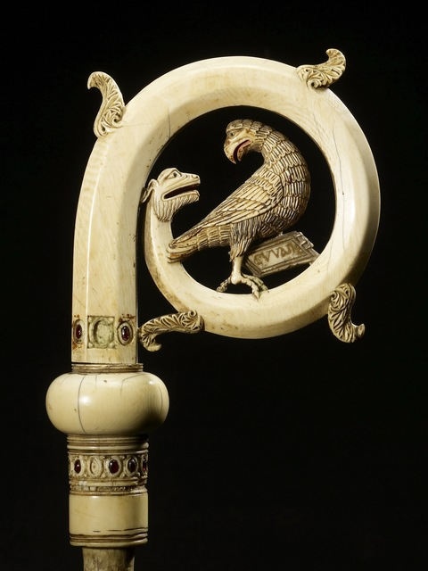 'Crozier Head with the Eagle of Saint John', 13th century, Walters Art Museum