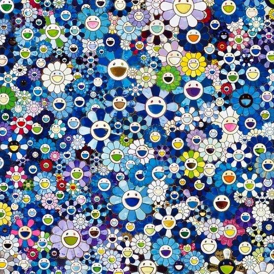 Takashi Murakami, 'Shangri-la Blue', 2016, Vogtle Contemporary