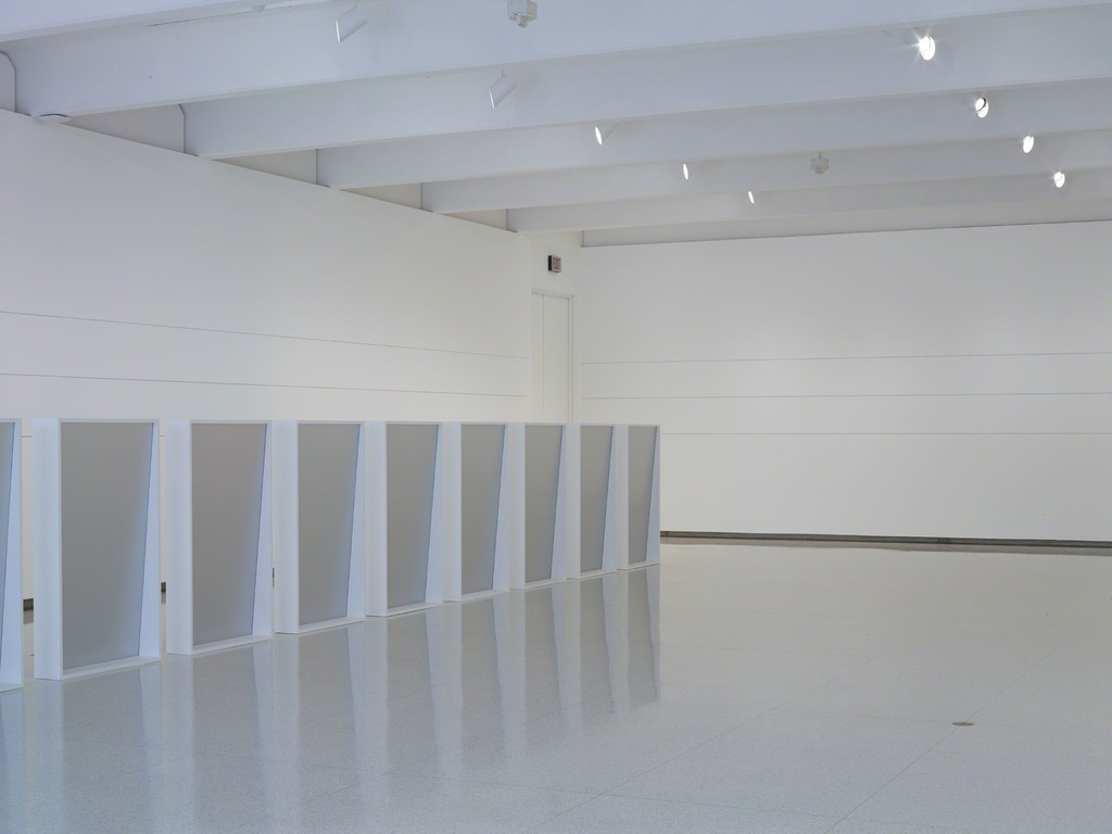 Installation view of the exhibition Liz Deschenes: Gallery 7, 2014-2015. Photo: ©Walker Art Center.