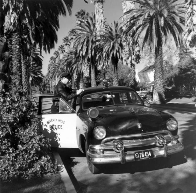 Slim Aarons, 'Beverly Hills Cop', 1952, IFAC Arts
