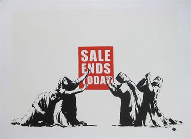 , 'Sale Ends - Unsigned,' 2006, Hang-Up Gallery