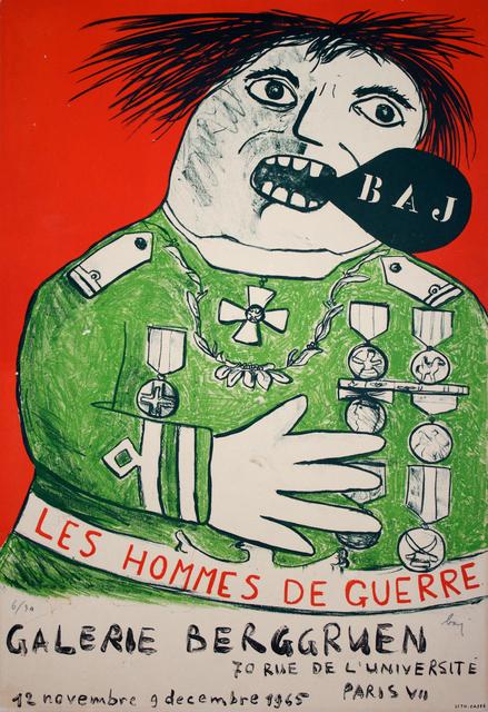 Enrico Baj, 'Homme de Guerre', 1965, Studio Mariani Gallery
