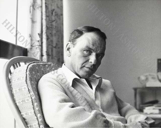 , 'Frank Sinatra - Relaxing on Tour,' ca. 1962, Hilton Asmus