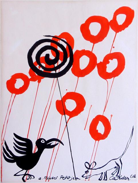 , 'The Crow and the Fox | Le Courbeau et la Renard,' 1968, Gilden's Art Gallery
