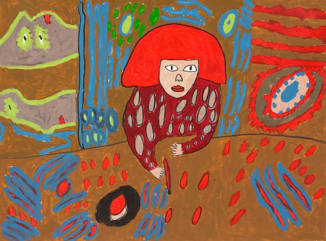 , 'Yayoi Kusama,' 2019, Creativity Explored