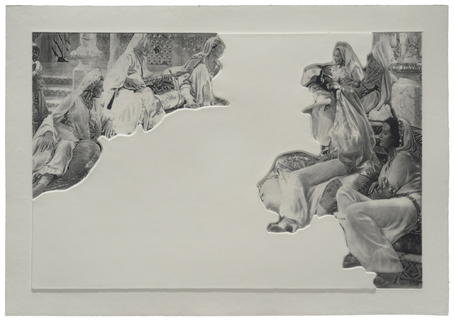 , 'Crowds with Shape of Reason Missing: Example 5,' 2012, Mixografia