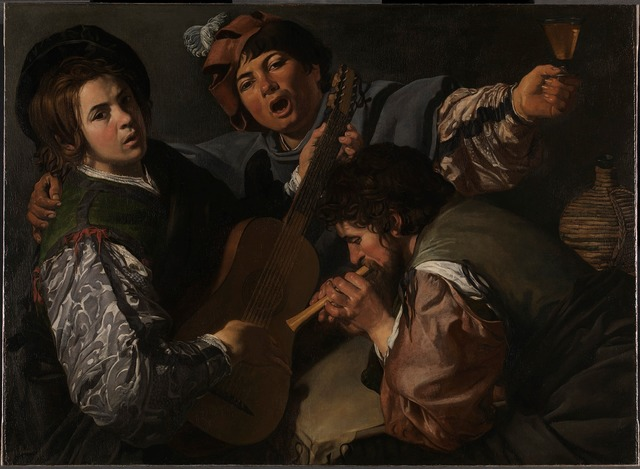 , 'A Concert with Three Figures,' 1615-1616, The National Gallery, London