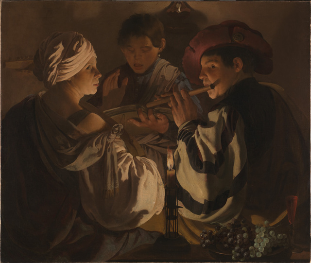 , 'The Concert,' ca. 1626, The National Gallery, London