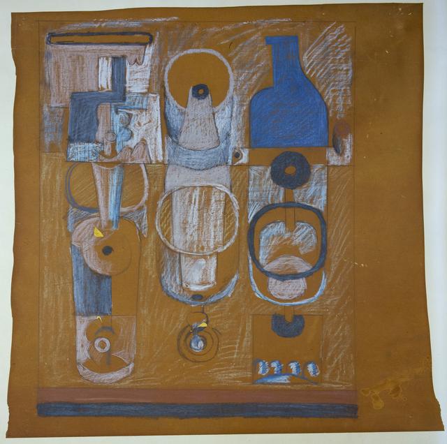 , 'Bouteille bleu,' 1926, Placart