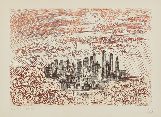 Salvador Dalí, 'Manhattan, from New York City Suite', 1964, Phillips