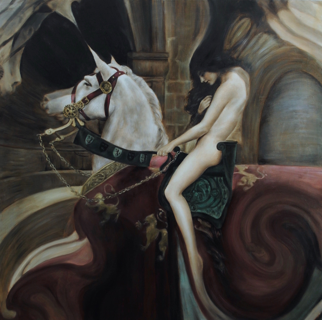 , 'Lady Godiva (after Collier),' 2018, Haven Gallery