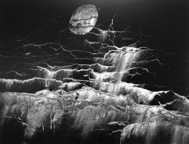 , 'Moon and Wall Encrustations, Pultneyville, NY,' 1964, G. Gibson Gallery