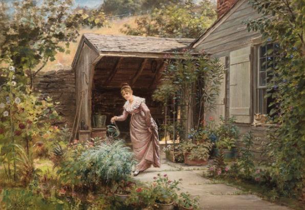 , 'In the Garden,' , Godel & Co.