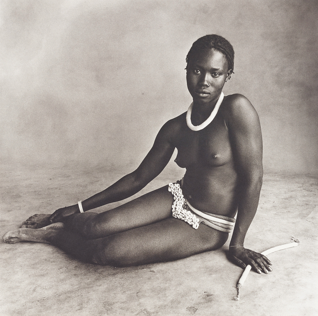 Irving Penn, 'Nubile Young Beauty of Diamarè, Cameroon', 1969, Phillips