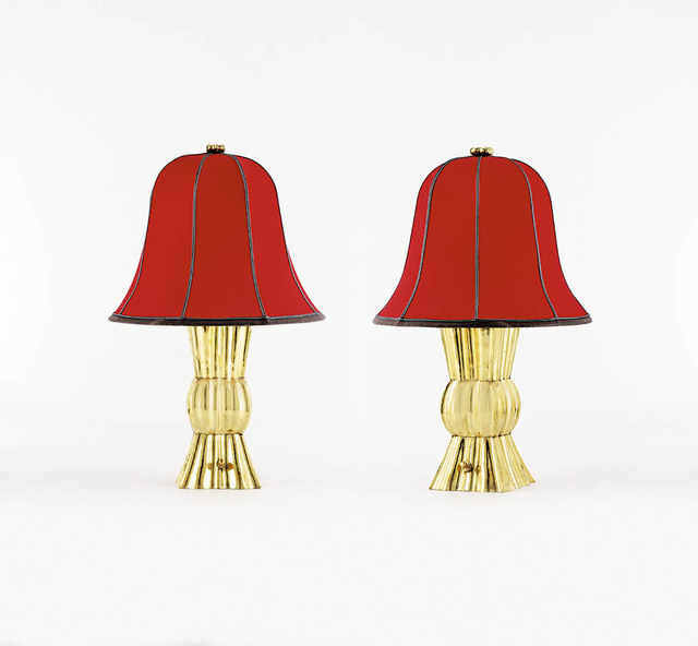, 'Two Table Lamps,' 1921, Galerie Bei Der Albertina Zetter