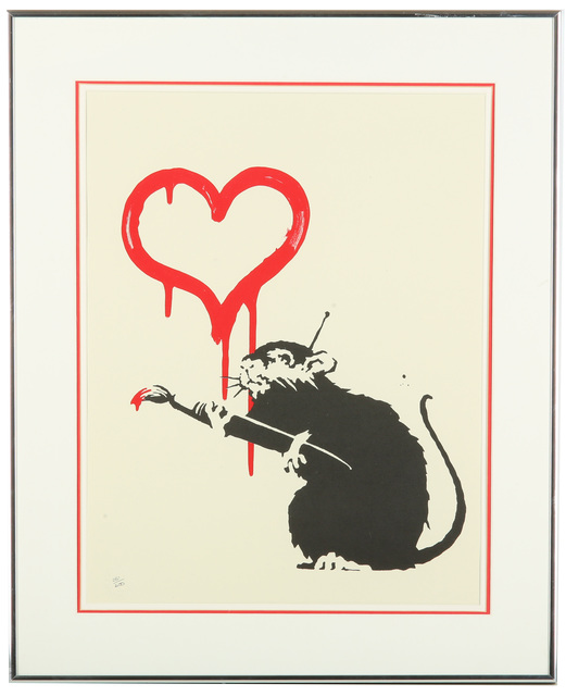 Banksy, 'Love Rat', 2004, Chiswick Auctions