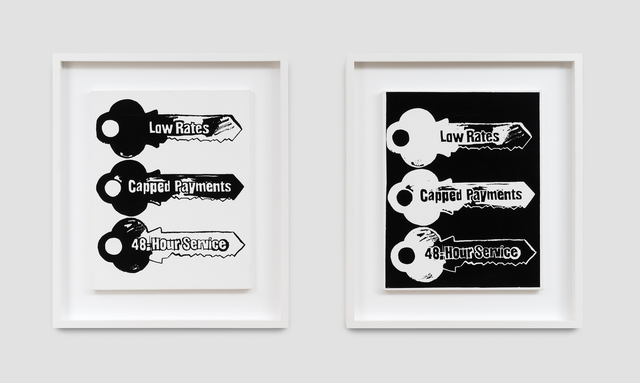 Andy Warhol, 'Key Service', 1985, Painting, Synthetic polymer paint and serigraphic ink on canvas, QG Gallery