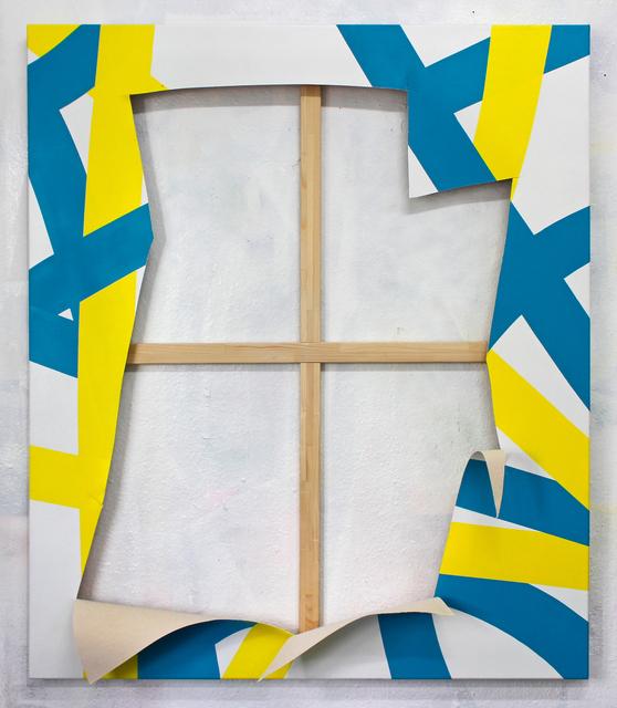 , 'ZERSTÖRUNG (Serie FLICKWERK™),' 2017, Galerie Droste