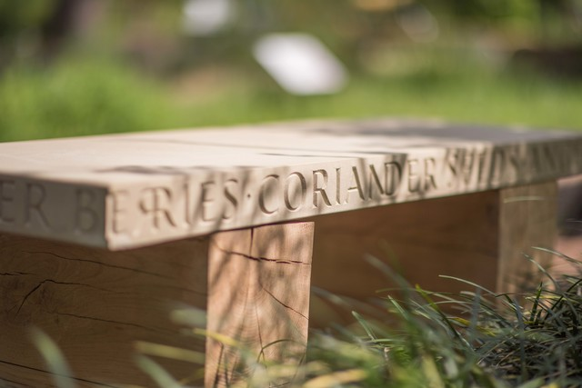 , 'Gin & Tonic Bench,' , Chelsea Physic Garden