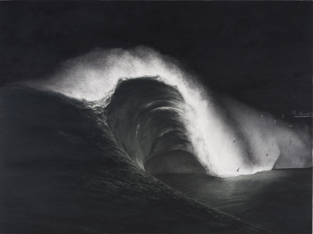 Shiori Eda, 'Tsunami', 2014, Painting, Oil on canvas, A2Z Art Gallery