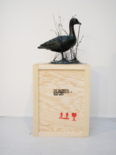 , 'The Tar Museum - Goose,' 2009, Georg Kargl Fine Arts