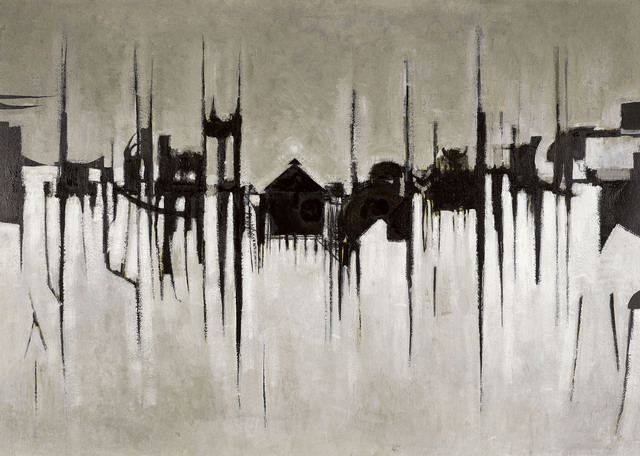 , 'January landscape,' 1952-53, Christopher Kingzett Fine Art
