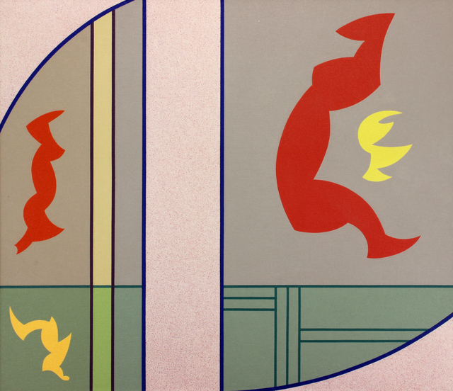 , 'Chromatic Contrasts No. 16,' 1943, Addison Rowe Gallery