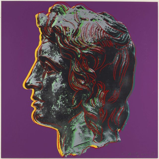 Andy Warhol, 'Alexander The Great II.291', 1982, OSME Fine Art