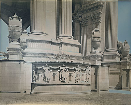 , 'The Palace of Fine Arts,' 2014, Haines Gallery