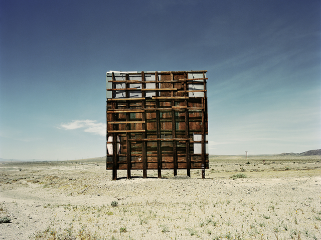 , 'Back of the Billboard,' 2010, De Re Gallery