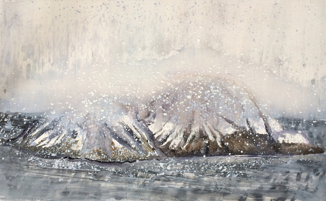, 'Graves Island in Snow,' 2015, Gallery NAGA