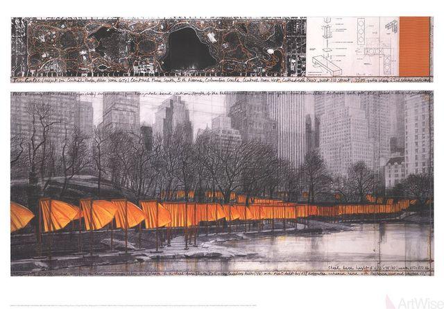 Javacheff Christo, 'The Gates XXVII', 2005, ArtWise