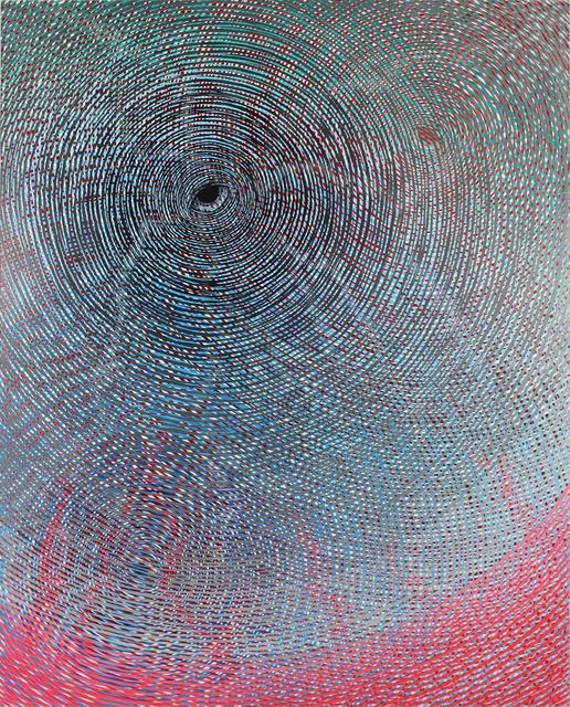 , 'Three Watchful Eyes,' 2018, Galerie Droste