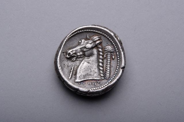 , 'Carthaginian Tetradrachm,' ca. 300 BCE, ArtAncient