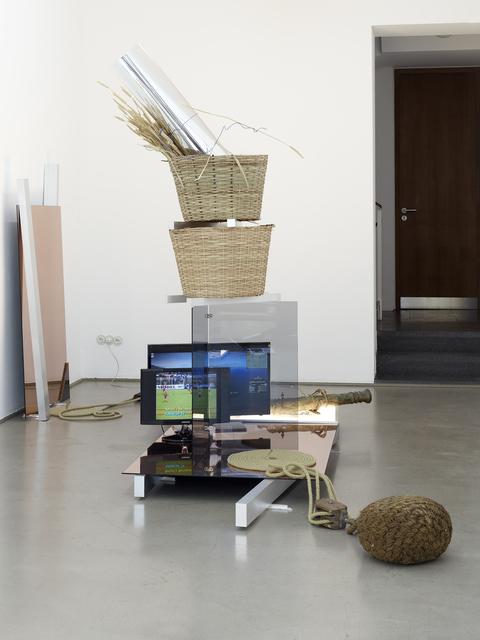 , 'Trade Alert (Zählt Nicht Uns, Zählt Eure Tage),' 2015, Markus Lüttgen