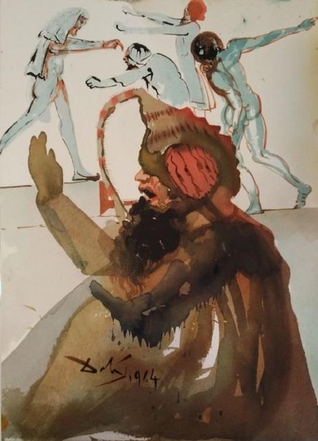"""Salvador Dalí, 'Joseph et fratres in Aegypto - From """"Biblia Sacra""""', 1964, Wallector"""