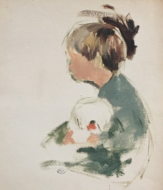 , 'Boy with a Goldfish Bowl,' ca. 1925, Lawrence Fine Art