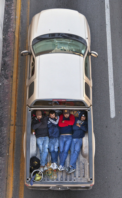 , 'Carpoolers #2,' 2011, Circuit Gallery