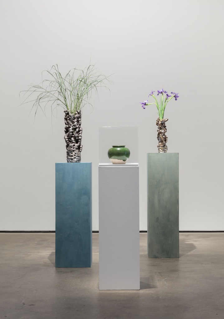 Installation view of Abstract by Nature at Sean Kelly, New York